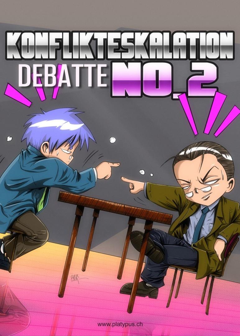 Konflikteskalation Debatte